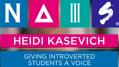 Video: Heidi Kasevich - Giving Introverted Students a Voice