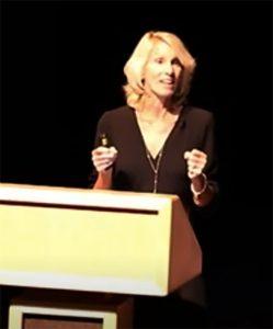Dr. Heidi Kasevich presenting