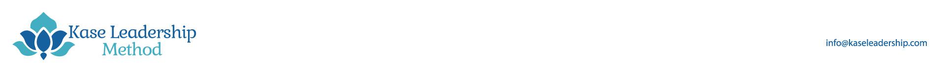 Kase Leadership logo and email